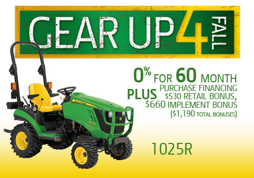 Gear Up 4 Fall 1025R Offer