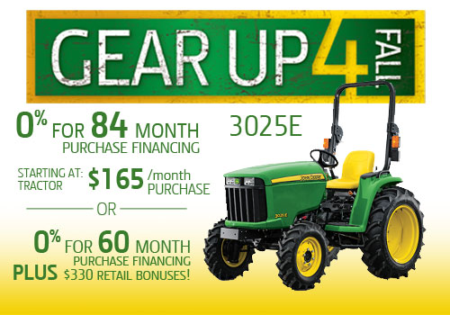 Gear Up 4 Fall 3025E Offer from Premier Equipment