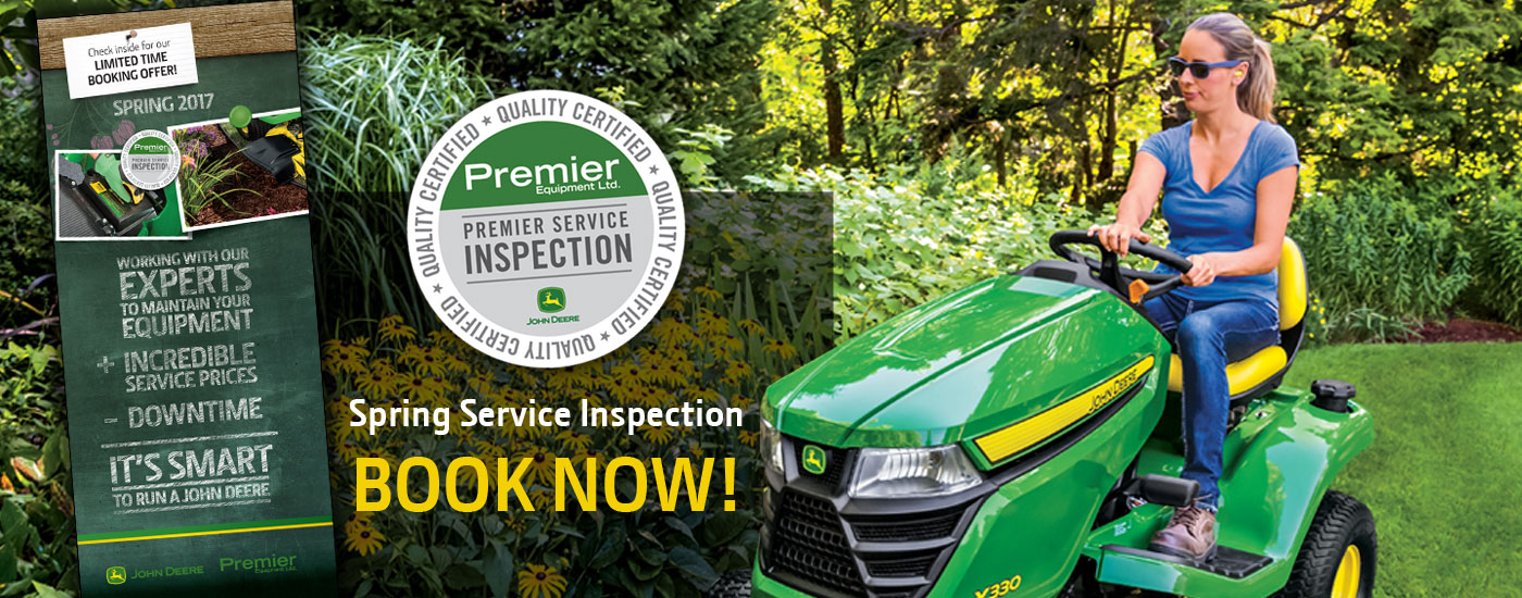 Spring Lawn and Garden Service Inspection Booking Offer