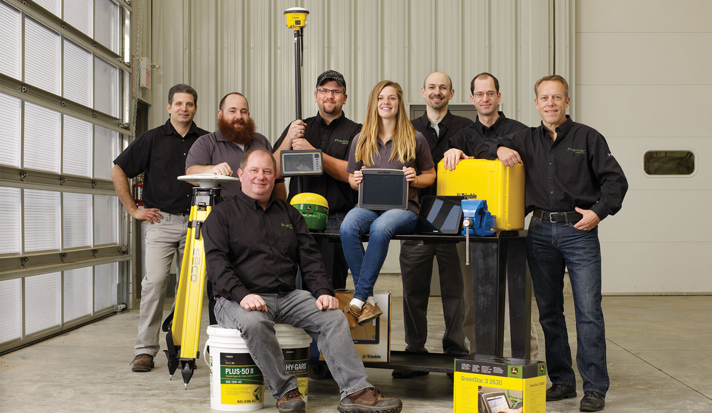 Premier Equipment's Integrated Solutions Team