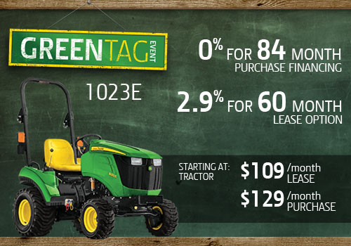 Green Tag 1023E Offer
