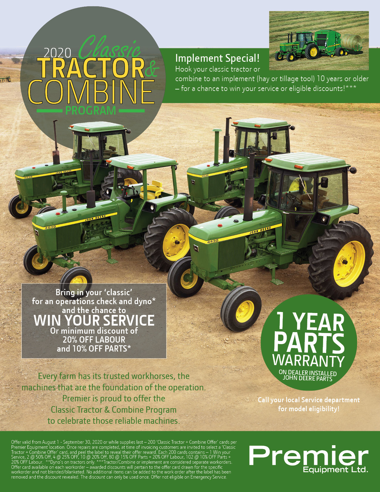 Classic Tractor and Combine Program