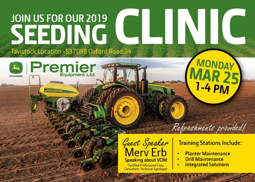 2019 Seeding Clinic March 25 2019