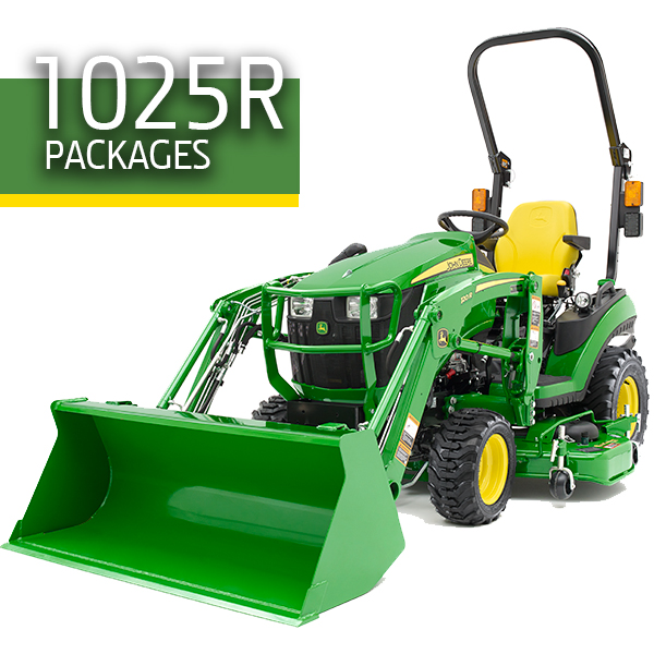 1025R John Deere Packages
