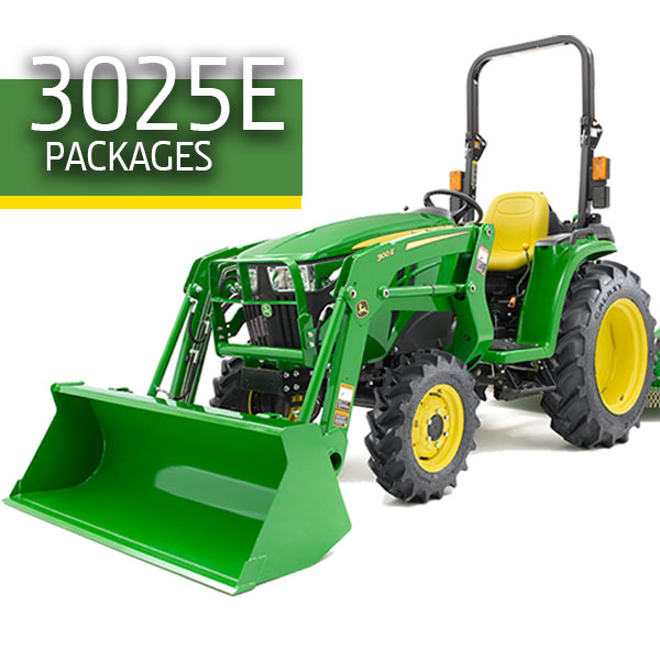 3025E Tractor Packages