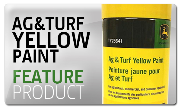 Feature Product - Ag & Turf Yellow Paint - Premier Equipment