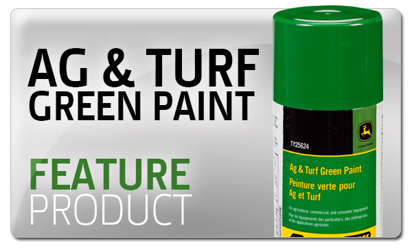 Feature Product - Ag & Turf Green Paint - Premier Equipment