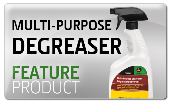 Premier Equipment Feature Product - John Deere - Multi-Purpose Degreaser