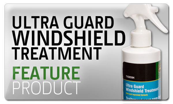 Premier Equipment Feature Product - John Deere - Ultra Guard Windshield Treatment