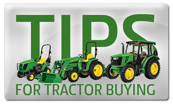 John Deere Tractor Buying Tips