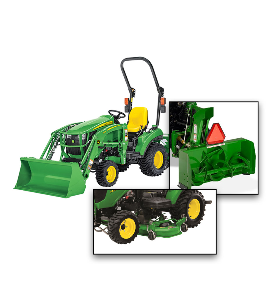 John Deere 1023E Property Package