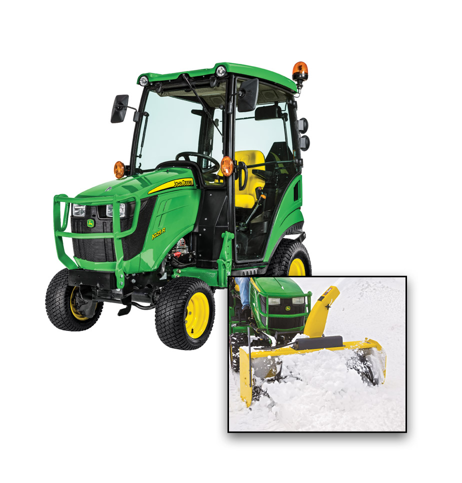John Deere 1025R Deluxe Snow Package