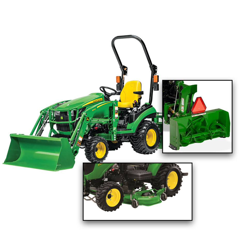 John Deere 1025R Property Package