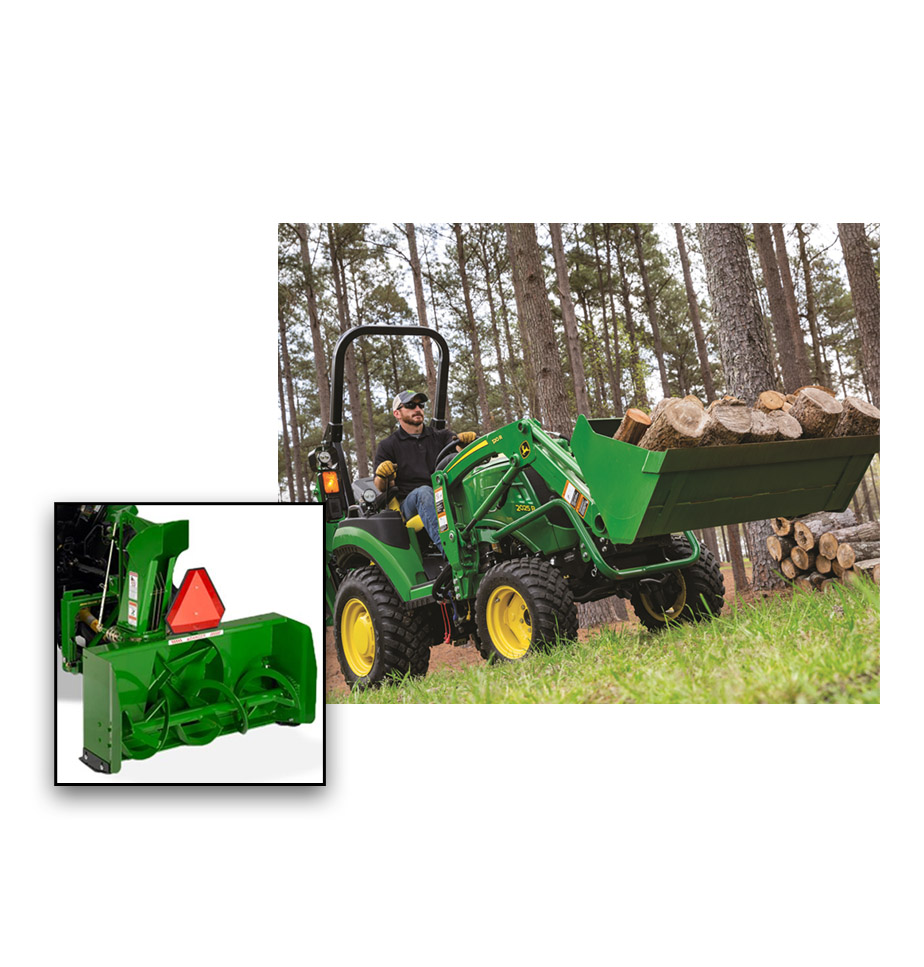 John Deere 2025R Loader Package