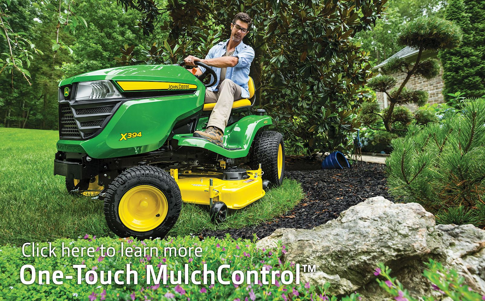 One Touch Mulch Control