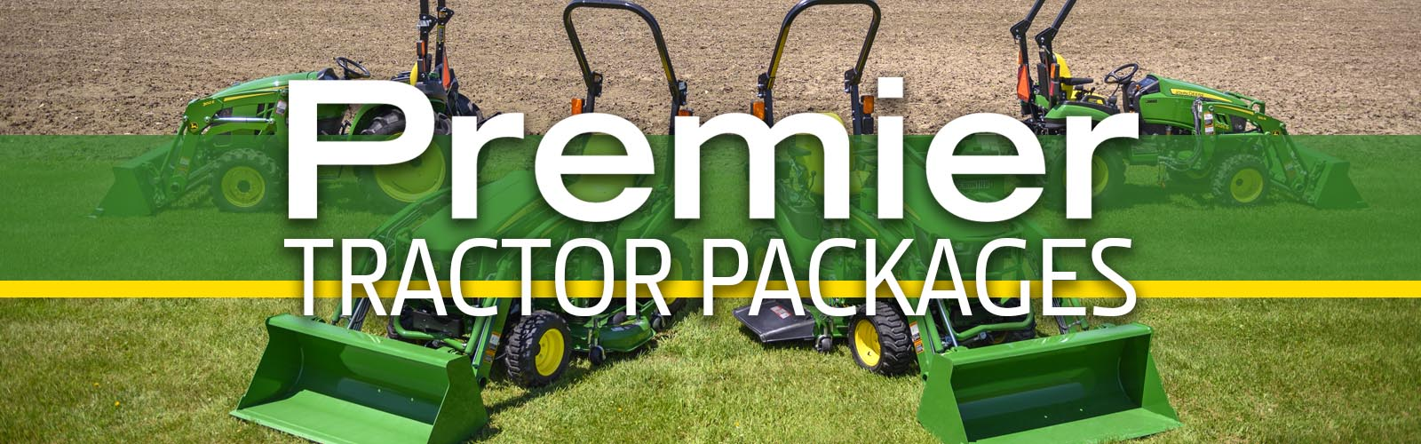 Premier John Deere Small Tractor Packages